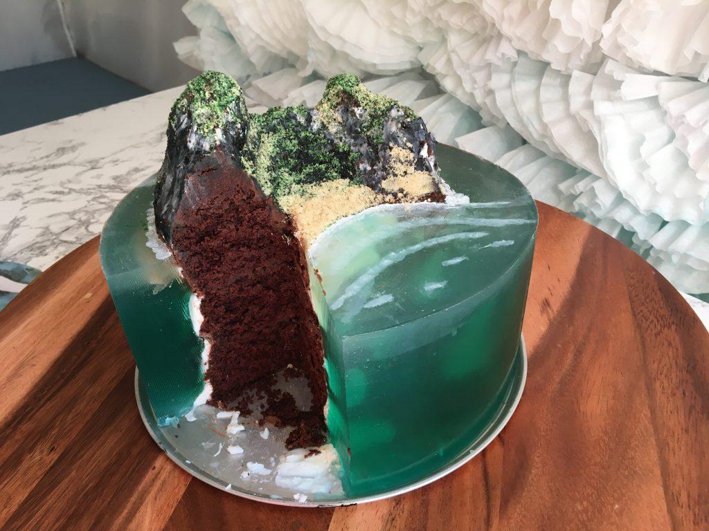 island jello cake